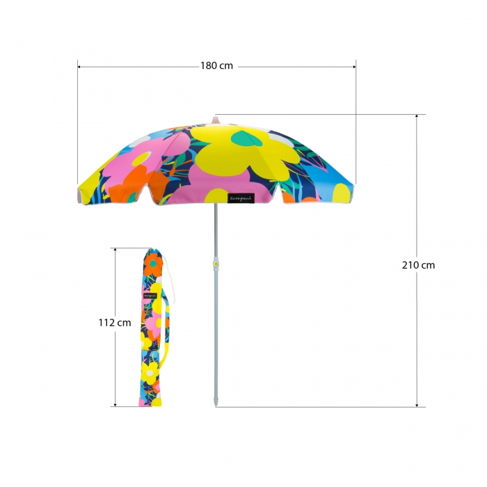 Pop Petal Cocopani Beach Umbrella