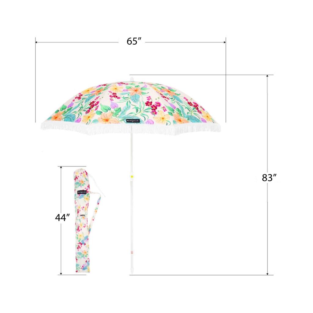Pop Petal umbrella measurements